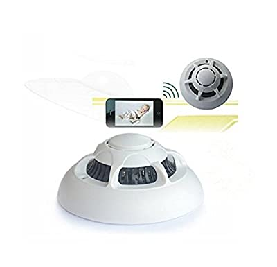 Toughsty™ WiFi Wireless IP Camera Hidden Nanny Security Camera Video Record UFO P2P Surveillance Camera for iPhone / iPad / PC / Smart Phones