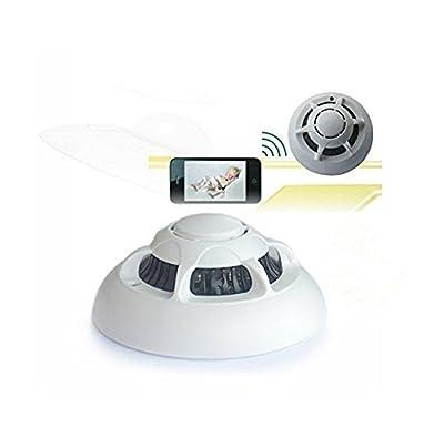 Toughsty™ WiFi Wireless IP Camera Hidden Nanny Security Camera Video Record UFO P2P Surveillance Camera for iPhone / iPad / PC / Smart Phones