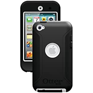 OtterBox Defender Series Case for iPod touch 4G (White Plastic/Black Silicone) (Discontinued by Manufacturer)