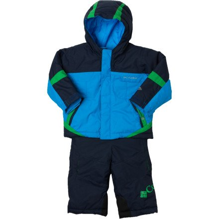 Review: Columbia Unisex-baby Infant Boys Buga Set, Compass Blue/Collegiate Navy, 6 Months