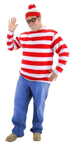 elope Where's Waldo Adult XX-Large Costume Kit