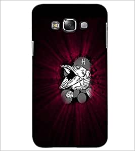 PrintDhaba Croc D-4783 Back Case Cover for SAMSUNG GALAXY A7 (Multi-Coloured)