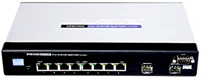 Cisco SRW2008 8-port Gigabit Switch - WebView
