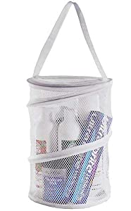 "Dorm Caddy Shower Tote (colors may vary),12""H x 8"" diameter"