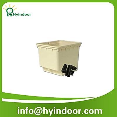Hyindoor hydroponic lettuce dutch grow pots bucket system Dutch pot bucket