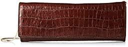 Vince Camuto Jaden Clutch, T.Moro Crocodile, One Size