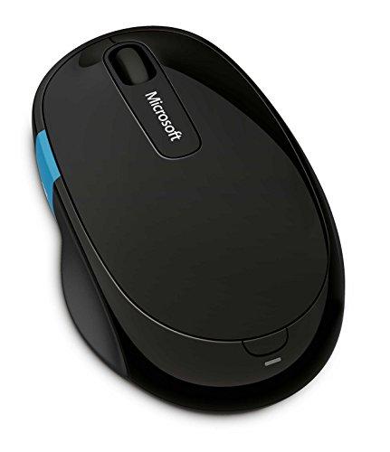マイクロソフト [人間工学] ワイヤレス Bluetooth マウス 高精細読み取りセンサー Sculpt Comfort Mouse (ブルートラック)  H3S-00007