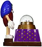 Official M & M's Chocolate Candies Limited Edition Collectible Madame Red-Ini Fun Fortunes Chocolate M&M Candy Dispenser & 1 Bag of M&M's Included