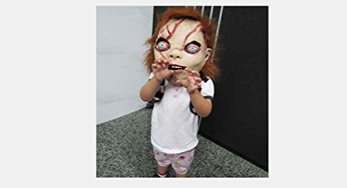 Ghost Baby Terror Latex Monster Halloween Costume Masquerade Party Cosplay Mask