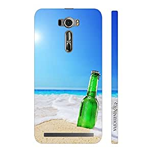 Enthopia Designer Hardshell Case Beer on the Beach Back Cover for Asus Zenfone 2 Laser ZE601KL
