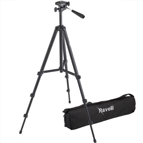 "Ravelli APLT2 49"" Light Weight Aluminum Tripod With Bag"