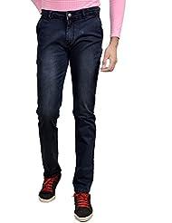 Karya Men Blue Tint Slim Fit High Fashion Jeans