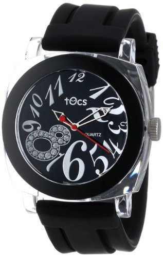 Tocs Women'S 40111 Analog Round Midnight Black Watch