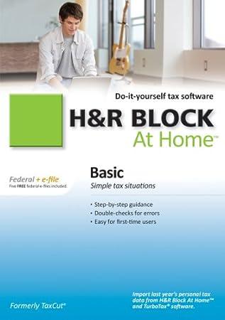 H&R Block At Home 2010 Basic Federal + eFile [Download] [OLD VERSION]