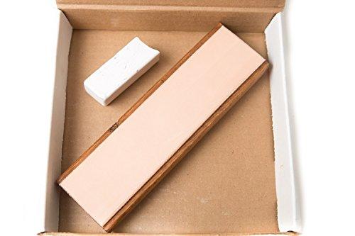 bloc-en-cuir-203-x-51-cm-aiguisage-w-polissage-compose-et-revetement-transparent-teinte-pieds-en-cao