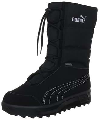 Puma Borrasca III GTX® Jr 301860 Unisex-Kinder Schneestiefel, Schwarz, 33