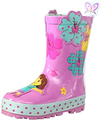 Nickelodeon Little Girls Dora Rain Boots Pink 8 Buy