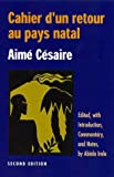 Cahier d'un Retour au Pays Natal (2nd edition) (English and French Edition) (0814250203) by Aime Cesaire
