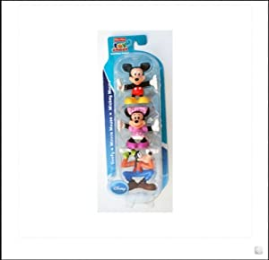 Fisher Price Toy Chest Mickey Stacking Friends- Mickey Mouse, Minnie Mouse, Goofy