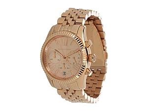 Michael Kors Women's MK5569 Lexington Rose Gold Tone Stainless Steel Watch