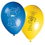 Disney Toy Story 3 Latex Balloons (Pack Of 8)