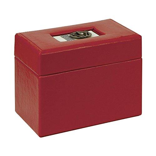 C.R. Gibson C.r. Gibson Recipe Box bon Appetit red