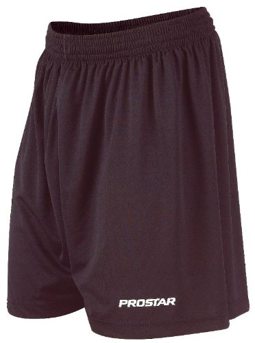 Prostar Kiev Kids Teamwear Short - Black, 26/28 Inch