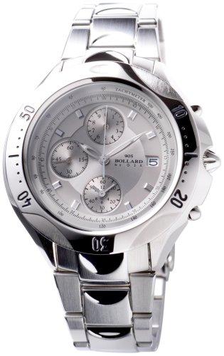GSX (ジーエスエックス) 腕時計 BOLLARD ボラード GSX905SSV クォーツ メンズ