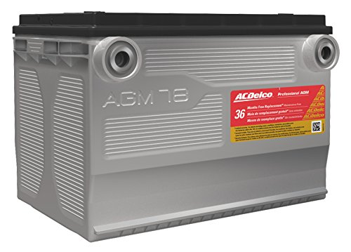 Acdelco 78Agm Professional Automotive Agm Bci Group 78 Battery
