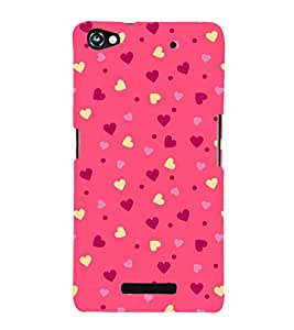 Classic Love Wallpaper 3D Hard Polycarbonate Designer Back Case Cover for Micromax Canvas Hue 2 A316