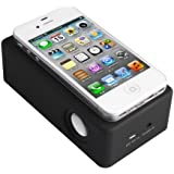 Smart Boom Box Speaker System Cordless Smartphone Speaker Amplifier, Wireless and Rechargeable