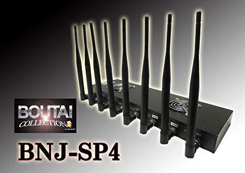 車両対応 8本携帯ジャマー 改良版 GPS遮断 ハイパワーモデル BNJ-SP4S