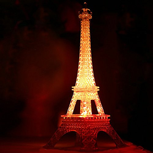 LED Eiffel Tower Cake Topper Cocktail & Table Centerpiece Wedding Birthday by Forbes Favors