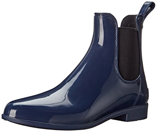 Sam Edelman Women's Tinsley Rain Boot, Space Blue/Black, 6 M US (Rain Boots Blue compare prices)