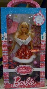 Barbie Holiday Sparkle Target Exclusive by Mattel