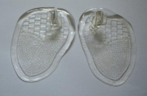 Gel Toe Post. Sandal & Flip-flop Toe Cushion Separator/Spreader. One Pair