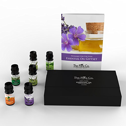 Therapeutic Grade Essential Oil Starter Set with 14 Bottles and Booklet