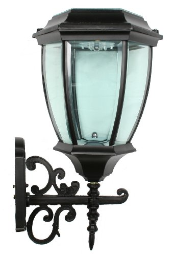 Large Outdoor Solar Powered Led Wall Light Lamp Sl-7405