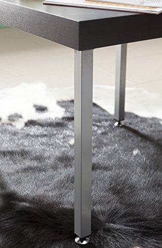 Element-System-4-Stck-Stahlrohrfe-eckig-Tischbeine-Mbelfe-inklusive-Anschraubplatte