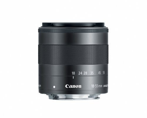 Canon Ef-M 18-55Mm F3.5-5.6 Is Stm Compact System Lens front-617191