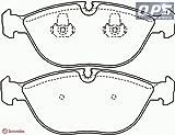 AUDI TT (8N3) 3.2 VR6 quattro Brembo Front Brake Pads 10/98 -> 06/06