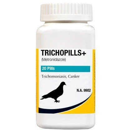 Cheap Trichopills+ 20 Pills Trichomiasis, Canker for Pigeons & Birds (B0071X00V8)