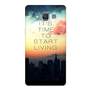 Special Its Start Living Back Case Cover for Galaxy Grand Max