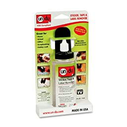 Un-du Adhesive Remover - 4 oz. Dispenser(sold in packs of 3)