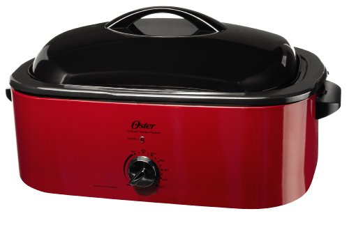 Oster CKSTROSMK18 Smoker Roaster Oven, 16-Quart (Small Oven Roaster compare prices)