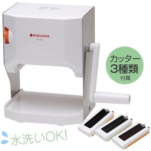 日本ニーダー 洗える 製麺機( カッター3種類) MCS203 [その他] [その他] [その他]