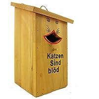 Hüwüknü Vogelhaus Katzen