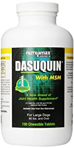 Nutramax Dasuquin with MSM for Large Dogs - 150 Tablets
