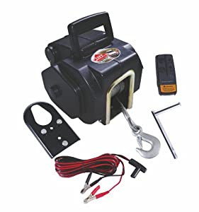 TRACTEL Minifor Argano elettrico portatile a fune in acciaio