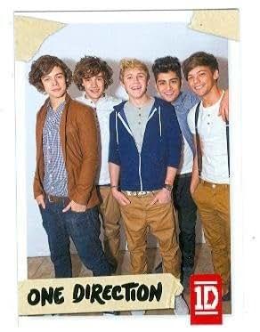 trading card #78 Louis Tomlinson, Niall Horan, Liam Payne, Zayn Malik